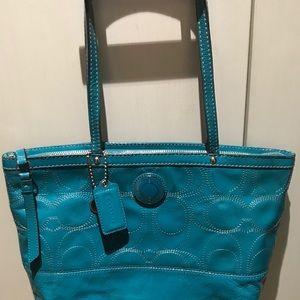 Coach Vinyl Handbag 👜
